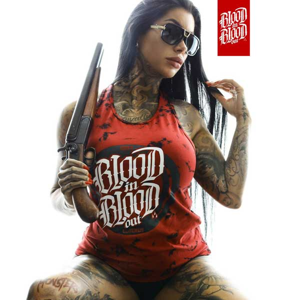 Blood In Blood Out Mancha D-Tanktop