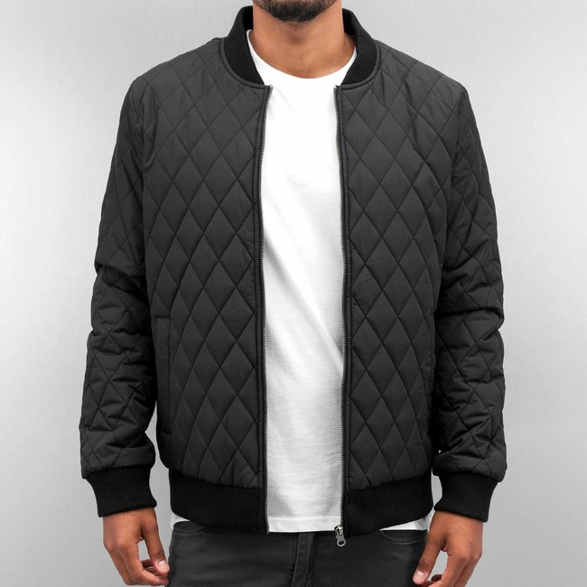Cyprime Quilted Jacket Black