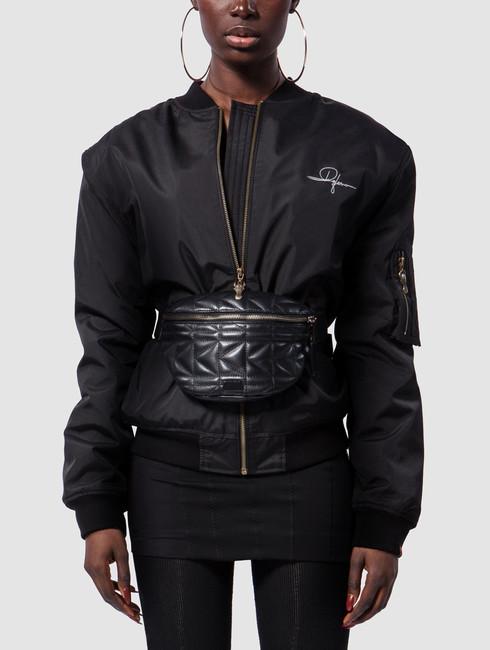 De Ferro / Bomber jacket Dread Bomb Short in black
