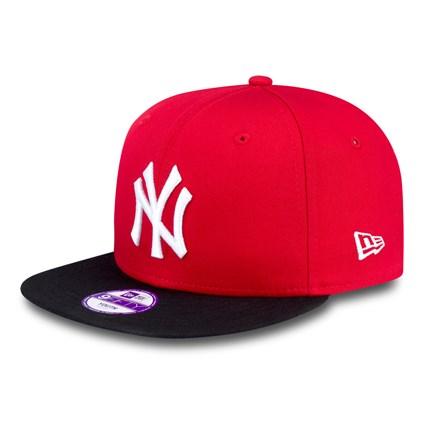 DETSKÁ NEW ERA 9FIFTY YOUTH MLB BASIC NEW YORK YANKEES CAP RED