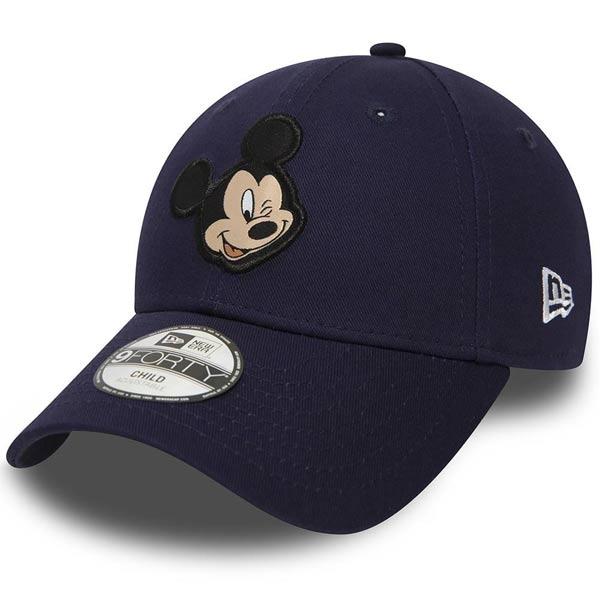 Detská šiltovka New Era 9Forty Youth Disney Patch Mickey Mouse Navy - UNI