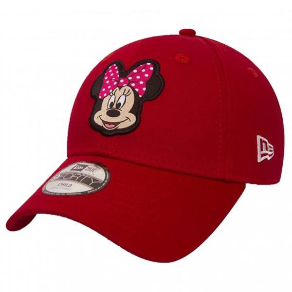 Detská šiltovka New Era 9Forty Youth Disney Patch Minnie Mouse Red - UNI