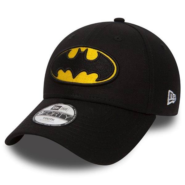 Detská šiltovka New Era 9Forty Youth Essential Batman Black Yellow - UNI