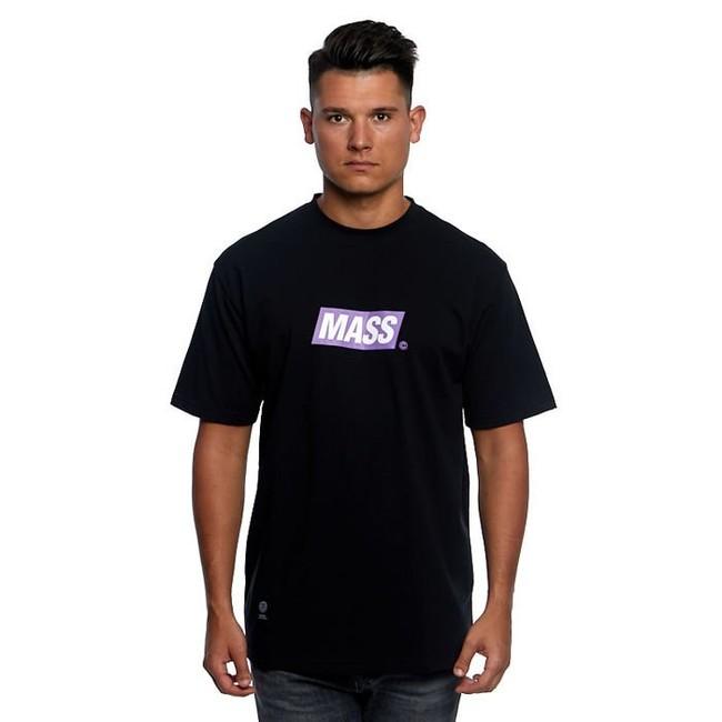Mass Denim Big Box Medium Logo T-shirt black - S