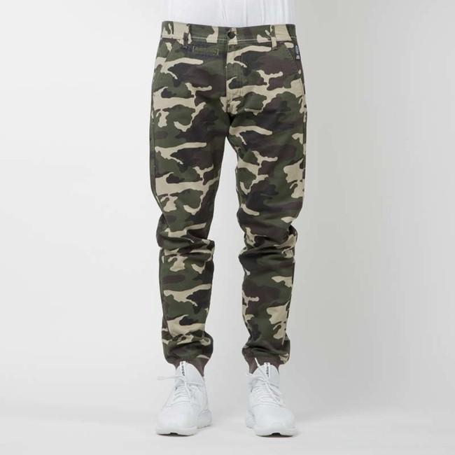 Mass Denim joggers pants Classics sneaker fit woodland camo - W 28