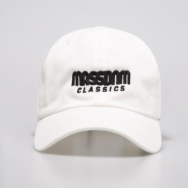Mass Denim Strapback Classics Sportcap white