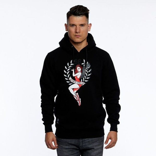 Mass Denim Sweatshirt Always Hoody black