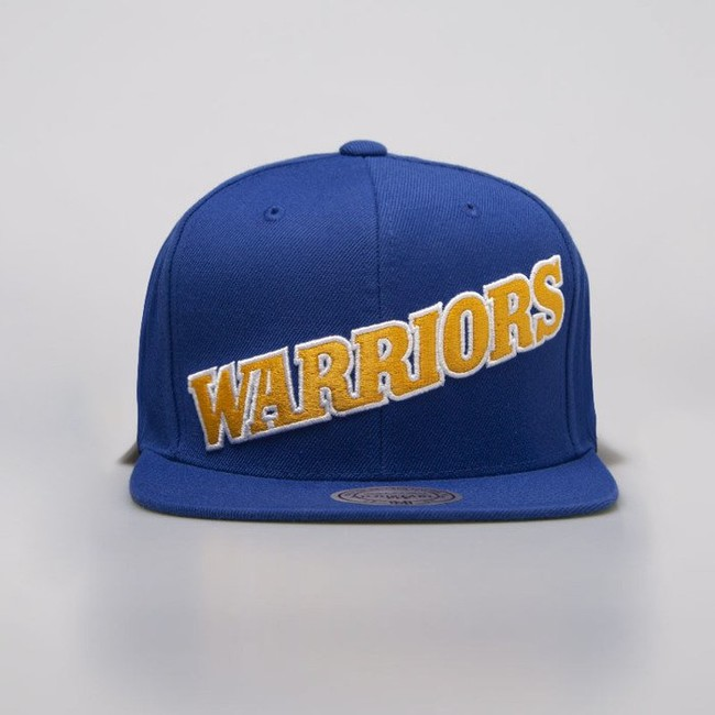 Mitchell & Ness cap snapback Golden State Warriors royal Wool Solid Snapback