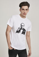 Mr. Tee Godfather Painted Portrait Tee white