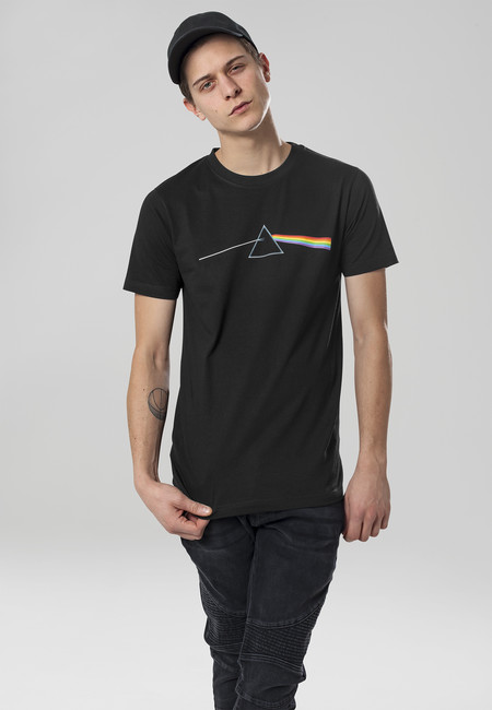 Mr. Tee Pink Floyd Dark Side of the Moon Tee black - XS