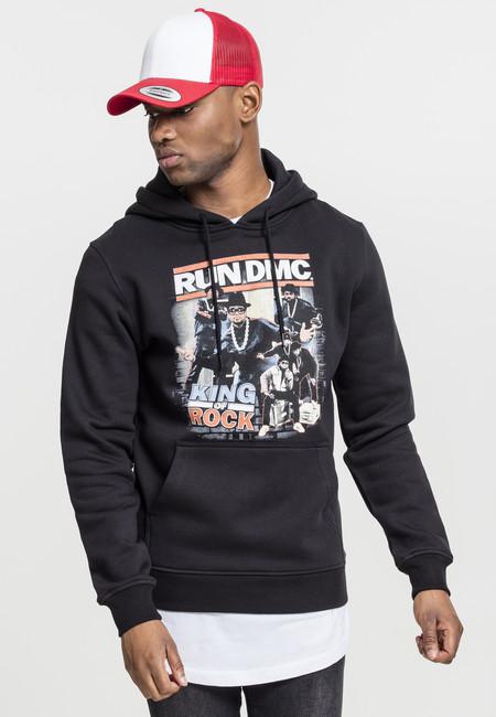 Mr. Tee Run DMC King of Rock Hoody black - XS