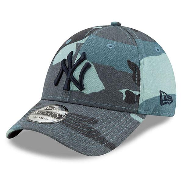 Šiltovka New Era 9Forty MLB Essential NY Yankees Camo - UNI