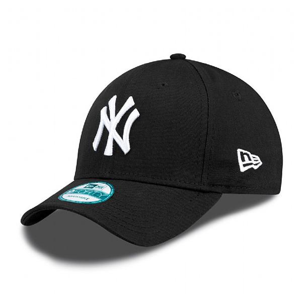 Šiltovka New Era 9Forty MLB League Basic NY Yankees Black White - UNI