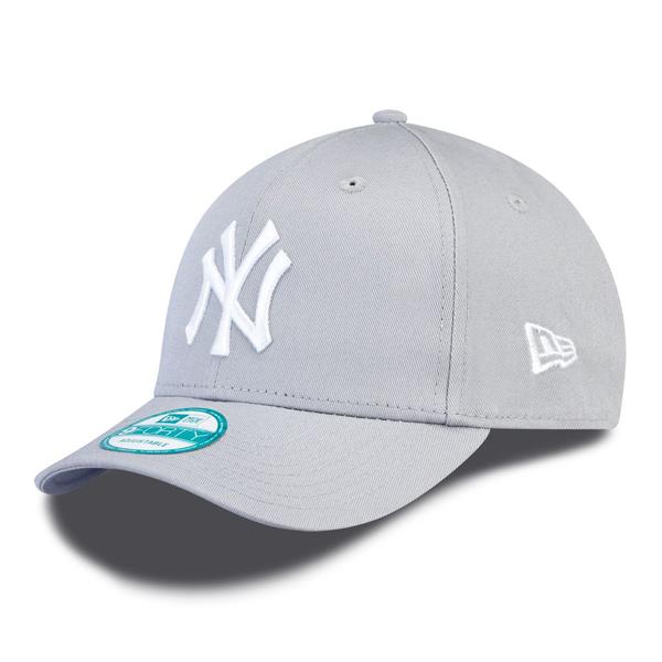 Šiltovka New Era 9Forty MLB League Basic NY Yankees Grey White - UNI