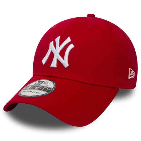 b1a65522e Šiltovka New Era 9Forty MLB League Basic NY Yankees Scarlet White - UNI