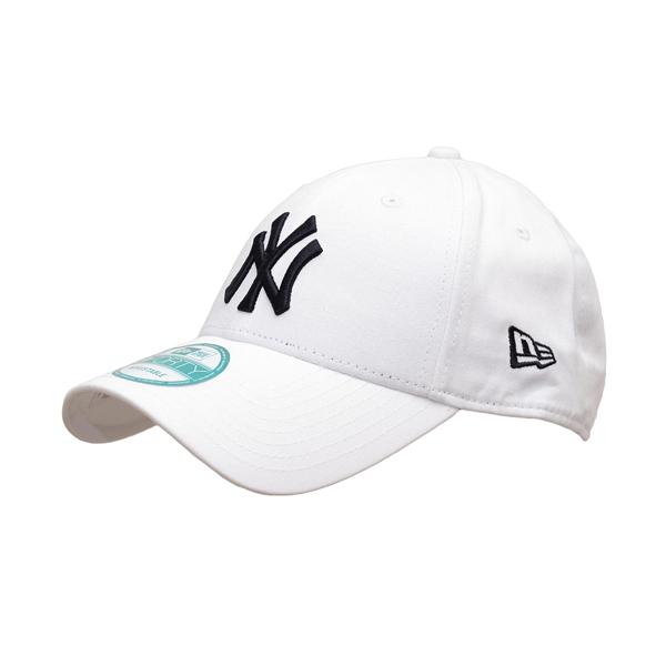 Šiltovka New Era 9Forty MLB League Basic NY Yankees White Black - UNI