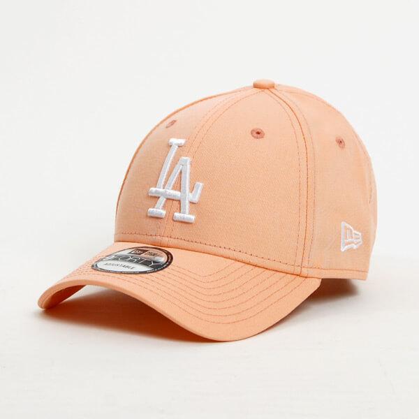 2ac7bac55 Šiltovka New Era 9Forty MLB League Essential LA Dodgers Peach White - UNI