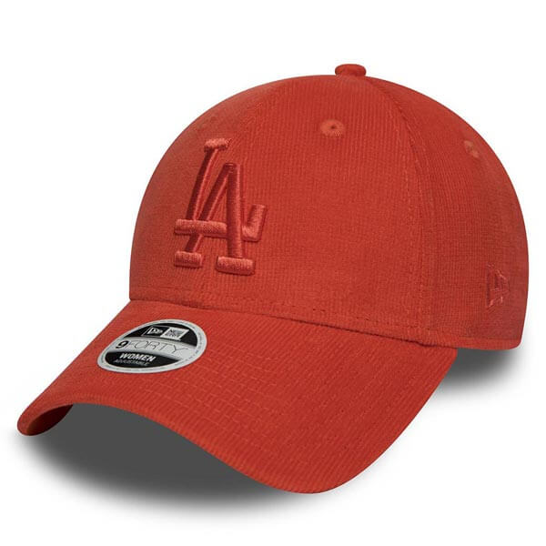 Šiltovka New Era 9Forty MLB Micro Cord Cap LA Dodgers Orange - UNI