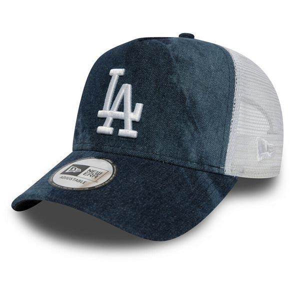 Dámska šiltovka New Era 9Forty Womens A Frame Tie Dye Trucker LA Dodgers Navy - UNI