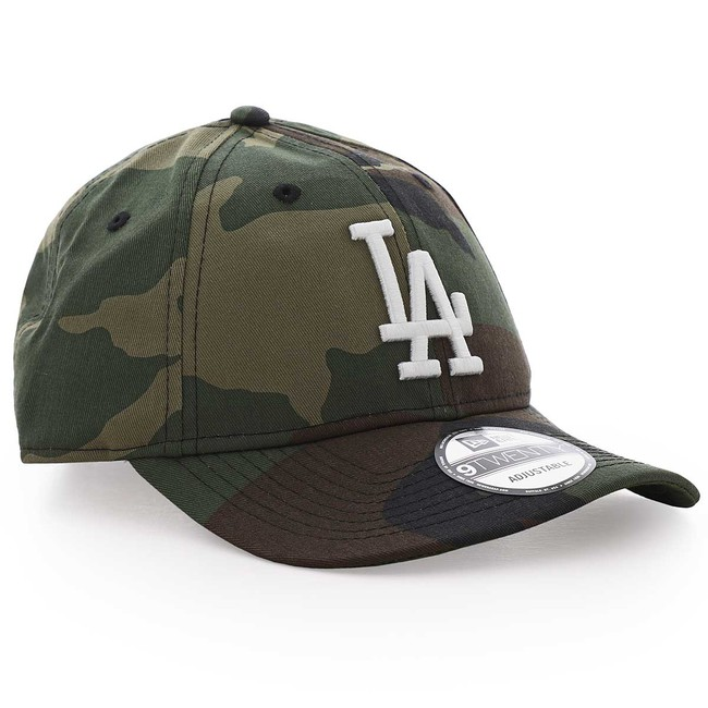 Šiltovka Skladacia New Era 9Twenty MLB Camo Packable LA Dodgers Green - UNI