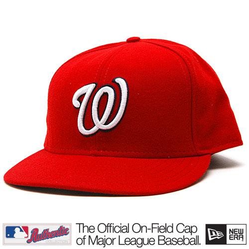 New Era Authentic Washington Nationals GM Cap - 7