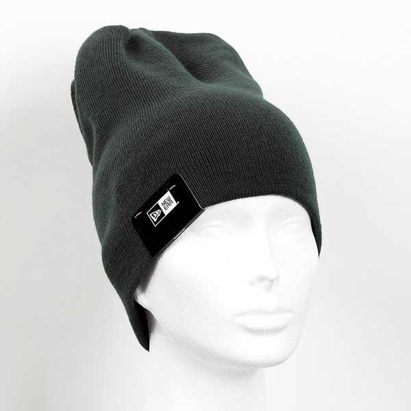 Zimná čapica New Era MLB Esential Long Cuff NE Knit Dark Green - UNI
