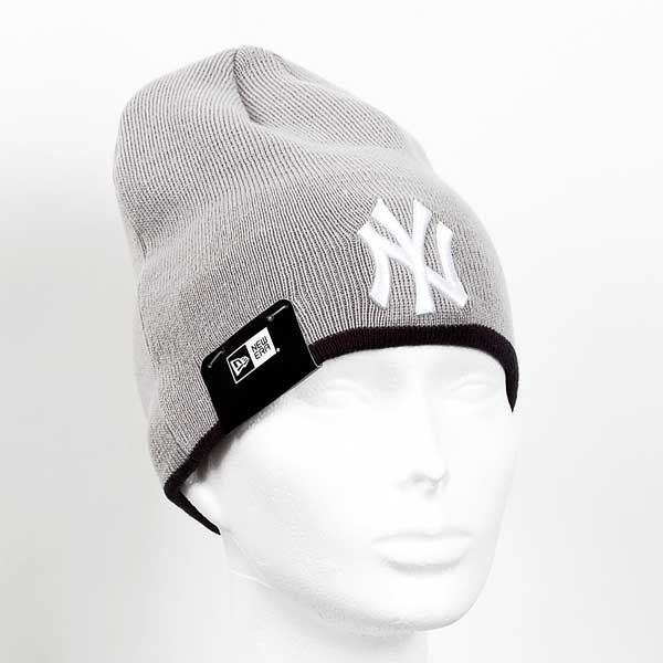 Zimná čapica New Era MLB Team Skull knit NY Yankees Grey - UNI