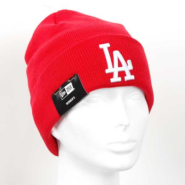 Dámska čapica New Era MLB WMNS League essential Knit LA Dodgers - UNI