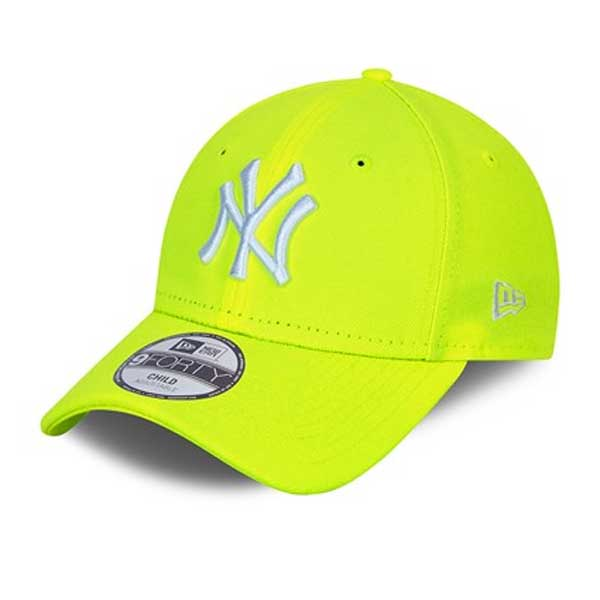 Detská čapica New Era Youth 9FortyK MLB Neon Pack NY Yankees Yellow - Child
