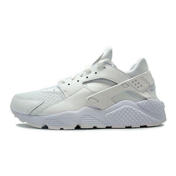 Nike Air Huarache White White Pure Platinum 318429-111 ... bfbafa2f090