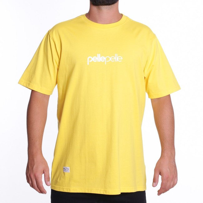 Pelle Pelle Core-porate t-shirt s/s YELLOW