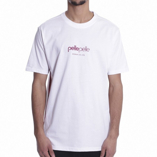 Pelle Pelle Core sports tape t-shirt s/s White