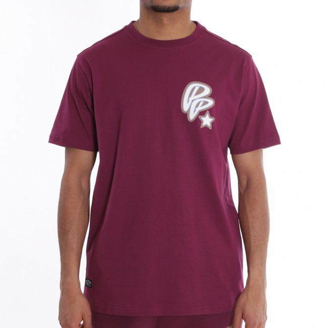 Pelle Pelle Soda club t-shirt s/s Crimson