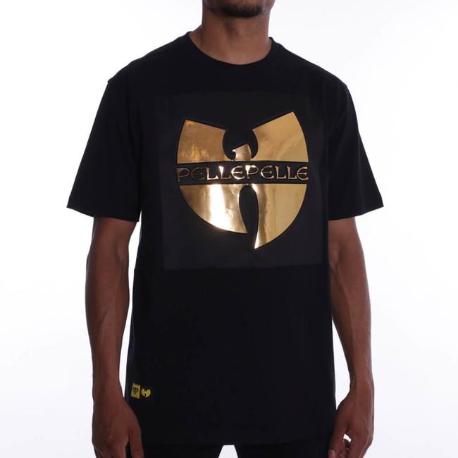 Pánske Tričko Pelle Pelle Wu-Tang Gold Tooth Tee Black