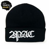 2-Pac Logo Winter Cap Black