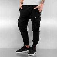 2Y Cargo Sweatpants Black