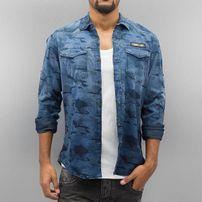 2Y Jace Shirt Blue Camo
