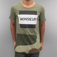 2Y Monsieur T-Shirt Khaki