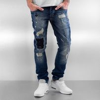 2Y Patchwork Jeans Blue