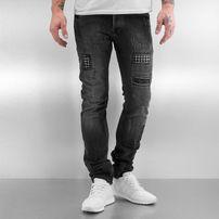 2Y Patchwork Jeans Grey