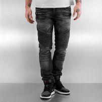 2Y Zip Jeans Grey