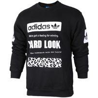 Adidas Graphic Crew SW Black CD1717