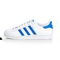 Adidas Superstar White Royal Blue S75929