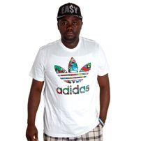 Adidas Trefoil Fill T White AB9536