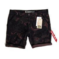 Alpha Industries Kerosene Short Camo Black