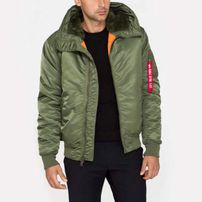 Alpha Industries MA-1 Hooded Sage Green