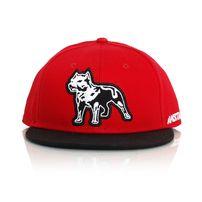 Amstaff Timus Snapback Cap Red Black
