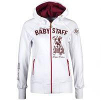 Babystaff Sideka Ziphoodie White