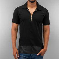 Bangastic PU Polo Shirt Shirt Black