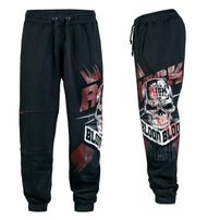 Blood In Blood Life`s a Risk Sweatpants Black